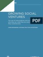 Growing Social Ventures