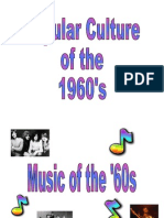 Popular Culture of the 1960s