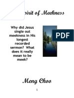 The Spirit of Meekness Meng Choo