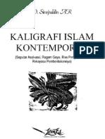 Konsep Kaligrafi Kontemporer_Didin Sirojudin AR, M.ag