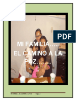 MI FAMILIA ..EL CAMINO A LA PAZ (Guión)