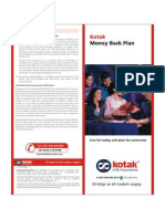 Kotak Money Back Plan
