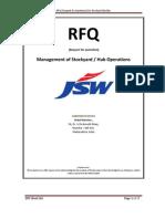 Stockyard RFQ