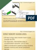 Microprocessor Interfacing- DMA
