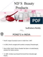 Marketing Research on Ponds