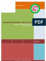 Panduan Microsoft Office Word 2007 Bagian 1
