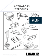 LINAK_Linear Actuators and Electronics_User Manual_Eng
