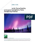 Strange New Air Force Facility Energizes Ionosphere, Fans Conspiracy Flames