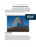 Strange Military Bases - The World's 18 Strangest Military Bases - Popular Mechanics