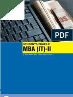 MBA IT-II08