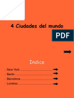 4 Ciudades Del Mundo