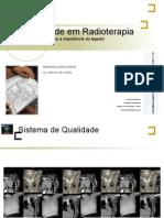 Factores de Qualidade em Radioterapia no Cancro do Recto