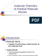 Supra Molecular Chemistry Towards Practical Molecular Devices