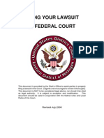 Lawsuit Federal Court Guide