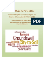 The Magic Pudding - understanding the outcomes, impact and futures of Groundswell 2007 - 2011