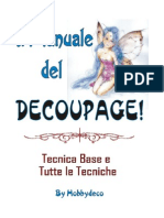 Manuale Del Decoupage by Hobbydeco