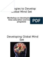 Developing Global Mind Set