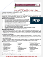 APM Training Courses