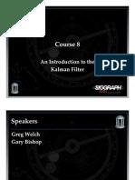 Kalman Filter Tutorial -Presentation