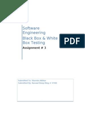 Bb Vs Wb Testing Software Testing Intellectual Works