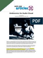 Ambisonics for Audio