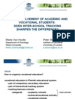 [Word version - full paper] - Study Involvement of Academic and Vocational Students