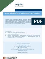 Novel Bio Markers for Assessing DNA Damage - Ven-2161-08