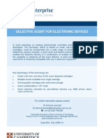 Selective Scent for Electronic Devices - Dav-2499-10