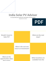 Preview of India Solar PV Advisor