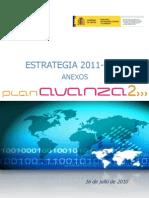 Plan Avanza 2 - Estrategia 2011 - 2015 - Anexos