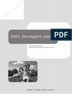 HDFC Developers Limited