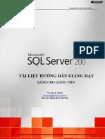 Teaching Guide SQL2008