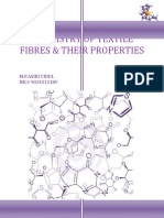 Chemistry of Textile Fibres & Their Properties
