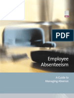 A Guide to Managing Absence