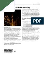 Fundamentals of Flow Metering