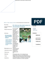 Informe Mundial Diver Cult Unesco