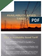 Availability Based Tariff
