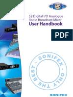 Sonifex S2 Console Manual