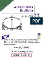Acids Bases - Lesson 3 - pH & pOH