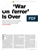 The 'War on Terror' is Over