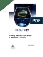 HFSSv12 Waveguide T-Junction