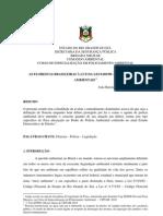 As florestas brasileiras à luz da Lei 9605