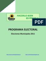 Programa Electoral LV-Orihuela