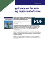 Hsg221 HSE Tech Guide - Safe Use Lift Equipment