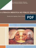 A Literacia Mediática e os Idosos Portugueses