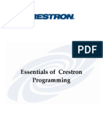 Workbook-essentials of Crestron Programming