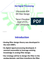 16 IIR Filter Design