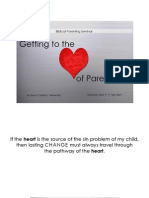 GCF Biblical Parenitng Seminar - Getting to the Heart of Parenting