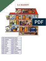 Vocabulaire de La Maison