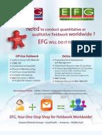 EFG Research General Brochure 2011